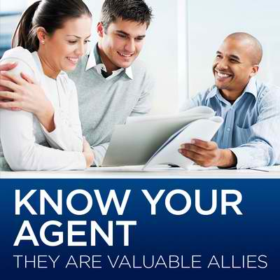 Know your insurance agent – they are valuable allies