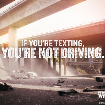 April is Distracted Driving Awareness Month!